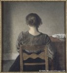 Vilhelm Hammershøi - from musee-orsay.fr