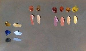 Da Vinci Natural Pigment oil paints