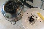 Making Candle Black