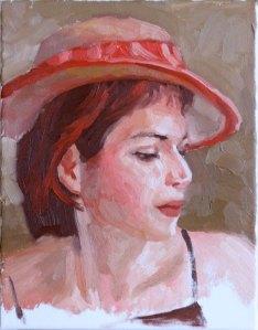 Zorn Palette Portrait