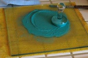 Mulling Copper Green