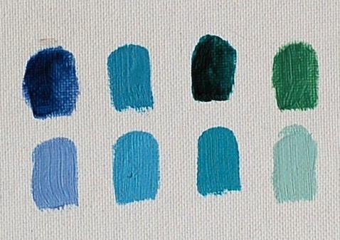 Malachite Oil Paint