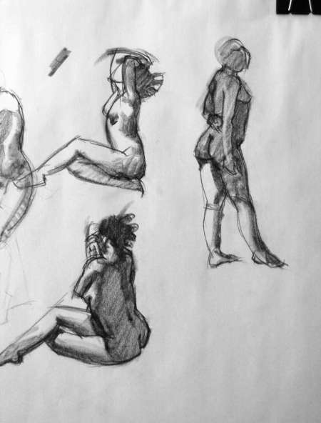 5-minute quick sketches