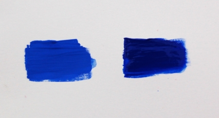 Drying Shift Ultramarine Blue Deep