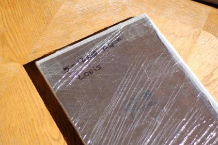 Cardboard removed